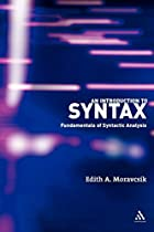 Introduction to Syntax: Fundamentals of…