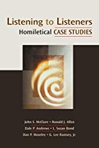 Listening to Listeners: Homiletical Case…