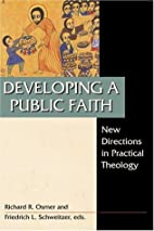 Developing a Public Faith: New Directions in…