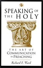 Speaking of the Holy: The Art of…