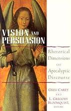 Vision and Persuasion: Rhetorical Dimensions…