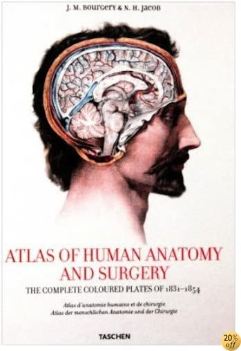 Atlas of Human Anatomy and Surgery in English - French - German : Atlas d'Anatomie Humaine et de Chirugie en Anglais - Francais - Allemand (French Edition)
