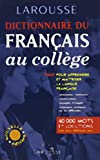 Larousse: French Collegiate Dictionary