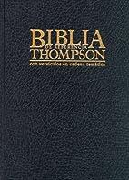 8660I Biblia de Referencia Thompson Piel…