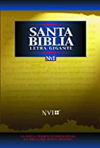 Santa Biblia - NVI Letra Gigante Tela Negro…