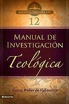 BTV # 12: Manual de investigación…
