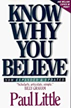 Know Why You Believe (Includes Study Guide)…