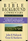 John H. Walton: The Ivp Bible Background Commentary: Genesis-Deuteronomy