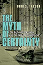The Myth of Certainty: The Reflective…