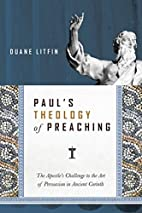 Paul's Theology of Preaching: The…