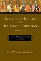 Letters and Homilies for Hellenized…
