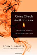 Giving Church Another Chance: Finding New…