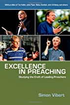 Excellence in Preaching: Studying the Craft…