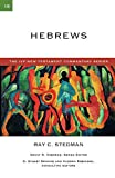 Stedman, Ray C.: Hebrews (The Ivp New Testament Commentary Series)