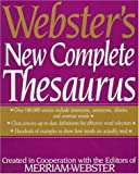 [???]: Webster&#39;s New Complete Thesaurus: Created in Cooperation With Editors of Merriam-Webster