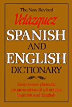 Velazquez Spanish and English Dictionary by…