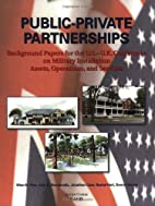Public-Private Partnerships: Background…