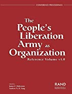 The People's Liberation Army as organization…