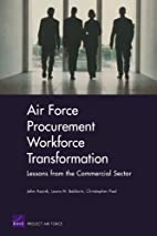 Air Force Procurement Workforce…