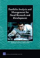 Portfolio Analysis and Management for Naval…
