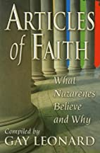 Articles of Faith: What Nazarenes Believe…