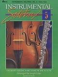 Linn, Joseph: Instrumental Solotrax - Volume 5: Sacred Solos for Violin or Flute