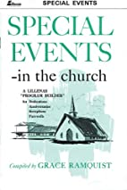 Special Events in the Church: A Lillenas…