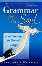 Grammar for the Soul: Using Language for…