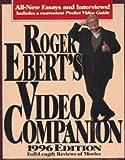 Ebert, Roger: Roger Ebert's Video Companion 1996/Roger Ebert's Pocket Video Guide (Roger Ebert's Movie Yearbook)