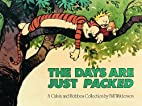 The days are just packed : a Calvin and…
