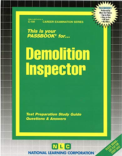 demolition-inspectorpassbooks-career-examination-series