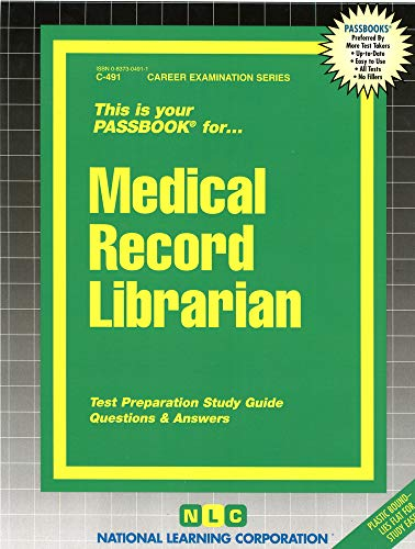 medical-record-librarianpassbooks-passbook-for-career-opportunities