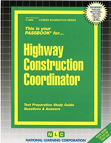 highway-construction-coordinatorpassbooks