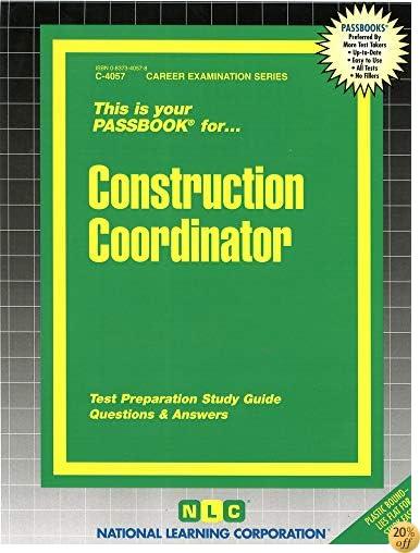 Construction Coordinator(Passbooks)