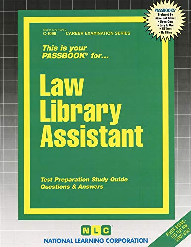 law-library-assistantpassbooks