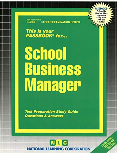 school-business-manager-passbooks-career-series-natl-learning-corp