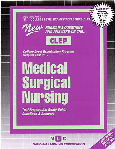 medical-surgical-nursing-college-level-examination-series-passbooks-college-level-examination-series-clep