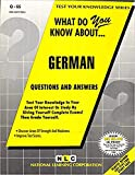Jack Rudman: GERMAN (Test Your Knowledge Series) (Passbooks) (TEST YOUR KNOWLEDGE SERIES (Q))