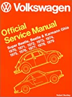 Volkswagen Official Service Manual Super…