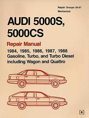 audi-5000s-5000cs-official-factory-repair-manual-1984-1985-1986-1987-1988-gasoline-turbo-and-turbo-diesel-including-wagon-and-quattro-2-volumes