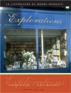 Explorations: La litterature du monde…