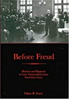 Before Freud: Hysteria and Hypnosis in Later…