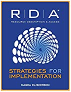 RDA: Strategies for Implementation by Magda…