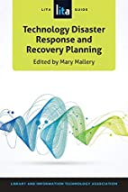 Technology Disaster Response and Recovery…