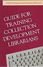 Guide for training collection development…