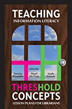 Teaching Information Literacy Threshold…