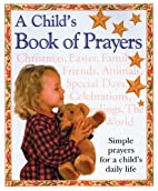 A Child's Book of Prayers by Glenda…