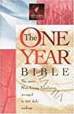 [???]: The One Year Bible: The Entire New Living Translation Arranged in 365 Daily Readings
