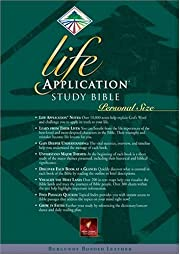 Life Application Study Bible Personal Size…