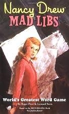 Nancy Drew Mad Libs by Roger Price